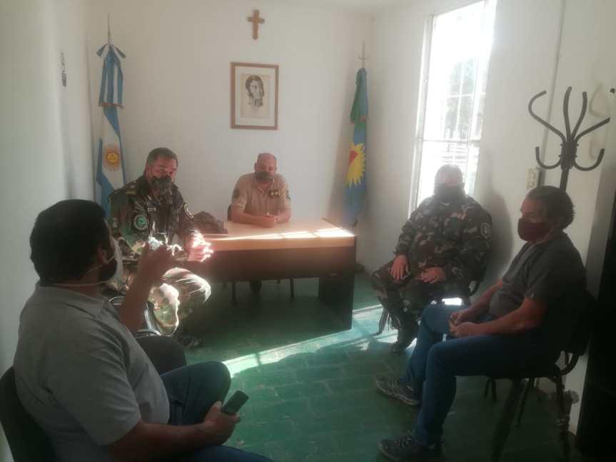 Seguridad: Reunión entre las entidades rurales y elCPR